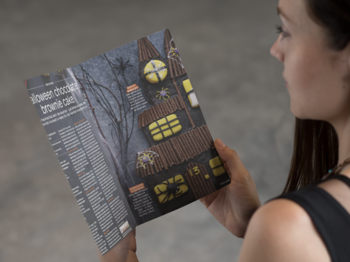Ideas de folletos para halloween